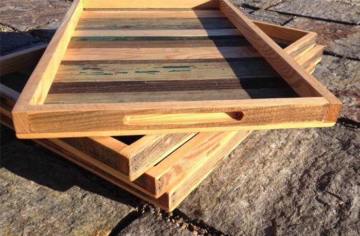 reclaimed wood trays reclaimed wood trays reclaimed wood trays - Reclaimed Wood Trays « Karin Haase